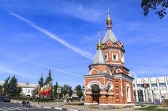 Kirche in Yaroslavl Stockfotografie