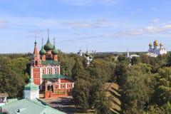Kirche an YAROSLAVL-Stadt, Russland Lizenzfreie Stockfotografie