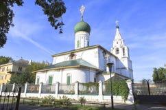 Kirche an YAROSLAVL-Stadt, Russland Lizenzfreie Stockfotos