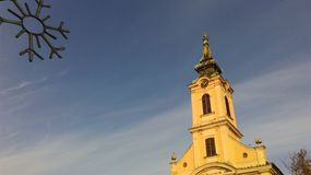 Kirche in Zemun Stockbilder