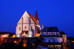 Kirche in Znojmo Stadt Stockbild