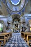 Kirchealtar Stockfotografie