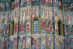 Kirchedetail Stockfoto