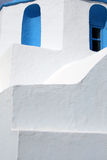 Kirchedetail - Paros, Griechenland Stockbild