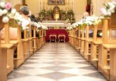 Kirchefeier Stockfoto