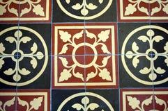 Kirchefußboden Stockfoto