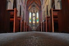 Kirchefußboden Stockfotografie