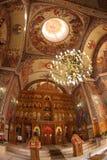Kircheinnenraum lizenzfreie stockbilder