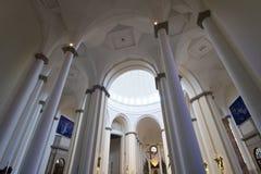Kircheinnenraum Stockfoto
