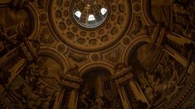 Kircheinnenraum von Str. Pauls in London Lizenzfreies Stockbild