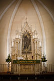 Kirchen-Altar Stockbild