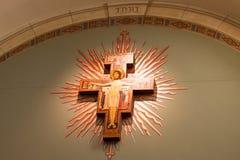 Kirchen-Dekoration Stockbild