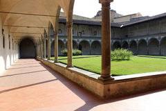 Kirchen-Garten in Florenz Stockbild