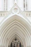 Kirchen-Giebel Stockfotografie