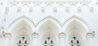 Kirchen-Giebel Lizenzfreie Stockbilder