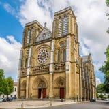 Kirchen-Heiliges Andre in Bayonne - Frankreich Stockbild