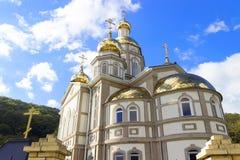 Kirchen-Heiliges Olga stockfotos