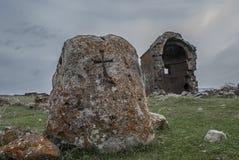 Kirchen-Heiliges Zoravar-Gestalt durch Mamikonyan Stockfoto