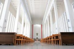 Kirchen-Innenraum Lizenzfreie Stockfotos