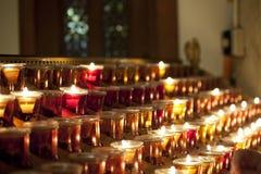 Kirchen-Kerzen Lizenzfreie Stockfotos