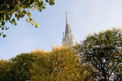 Kirchen-Kirchturm Lizenzfreie Stockfotografie
