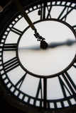 Kirchen-Kirchturm-Uhr Stockfotografie