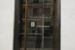 KIRCHEN-MINISTERIUM-GEBÄUDE Stockfotos