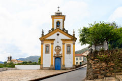 Kirchen in Ouro Preto Brasilien Lizenzfreies Stockfoto