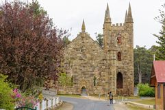 Kirchen - Port Arthur lizenzfreies stockfoto