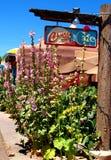 Kirchen-St.-Café in Oldtown, Albuquerque Lizenzfreie Stockfotos