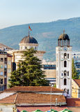 Kirchen-St. Demetrius von Salonica in Skopje Lizenzfreie Stockfotografie
