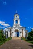 Kirchen-St. - Fürbitte, Weißrussland, Dorf des Rotes stockbild