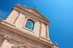 Kirchen-St. Maria Addolorata Locorotondo Puglia Italien Stockfotografie