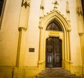 Kirchen-Tür Krems Österreich lizenzfreies stockbild
