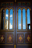 Kirchen-Türen Stockbild