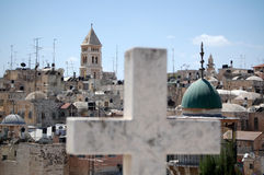 Kirchen und Moscheen Lizenzfreie Stockfotos
