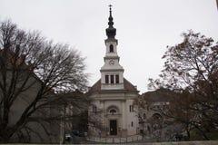 Kirchen von Budapest lizenzfreie stockfotos