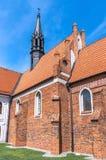 Kirchen von Polen - Wloclawek stockfoto
