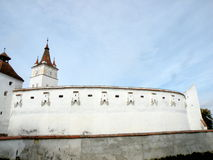 Kirchenburg (Harman) fortified church Royalty Free Stock Photo