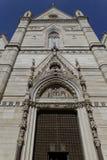 Kirchenfassade Stockbild