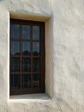 Kirchenfenster, Stuckwand Lizenzfreie Stockbilder