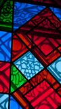 Kirchenglasmosaik lizenzfreie stockbilder