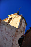 Kirchenglocke in Provence Stockfotografie