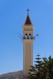 Kirchenglockekontrollturm Stockfotos