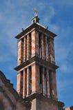 Kirchenglockekontrollturm Stockfotografie