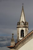 Kirchenglockekontrollturm Lizenzfreie Stockfotos