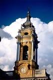 Kirchenglockekontrollturm stockfoto