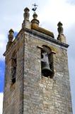 Kirchenglocketurm Loule historischer Igreja Matriz Stockfotografie