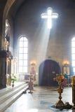 Kircheninnenraum Lizenzfreie Stockbilder