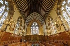 Kircheninnenraum, Oxford Stockfotografie